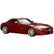 Welly Mercedes-Benz SLS Amg Remote Controlled Car, Red