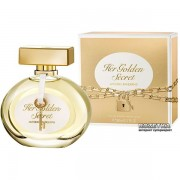 Antonio banderas her golden secret eau de toilette 50ml spray