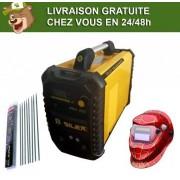 Silex France ® Pack poste à souder 200A + masque de soudure WH522 + 50 électrodes Silex ®