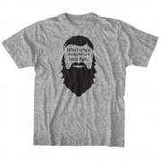 Never Bring a Mustache T-shirt