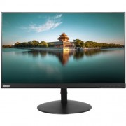 "Lenovo - ThinkVision 23.8"" IPS LED FHD Monitor - Black"