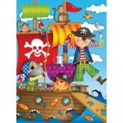 Puzzle Aventura Piratilor, 100 piese, RAVENSBURGER Puzzle Copii
