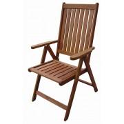 Kerti karfás szék 5 pozíciós