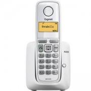 Безжичен DECT телефон Gigaset A220, Бял, 1015073