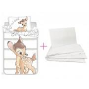 Disney Bambi ovis ágynemű szett Little 100x135cm 40x60cm