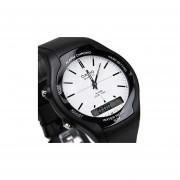 Reloj Casio Aw-90h7e -Negro y blanco