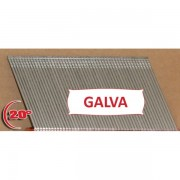 Clous TH Angle Brads 63 mm Galva 20° - Boite de 2000