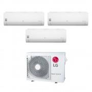 LG Climatizzatore Libero Smart Wifi Trial Split 9000+12000+12000 Btu Inverter In R32 Mu3r21