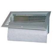 Accessori - Griglia Ripresa Alluminio Bianca + Filtro 800x200