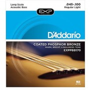 D'Addario EXPPBB170 Phosphor Bronze Coated Acoustic Bass Strings Long Scale 45-100