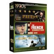 Decade 1970 - Patton/ The French Connection/A bridge too far (DVD)