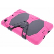Fuchsia extreme protection army case voor de iPad Mini / 2 / 3