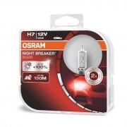 Osram Night Breaker Silver H7 12V 55W +100% autó izzó - duó csomag