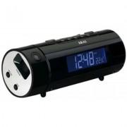 Akai- ARP-140 - Radio Réveil Projecteur 180°- Afficheur LCD Blanc - Tuner numérique AM/ FM - Alarme