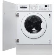Masina de spalat rufe incorporabila EWX147410W, 1400RPM, 7 Kg, Uscare 4 Kg, Display LCD, Alb