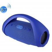 Booms Box Mini E10 A Prueba De Salpicaduras Portable Bluetooth V3.0 Stereo Speaker Con Mango Para El IPhone, Samsung, HTC, Sony Y Otros Smartphones (azul)