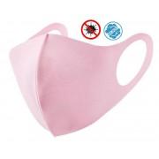 Nano ochranné rouška na obličej Růžové - Elastické (97% polyester + 3%spandex)