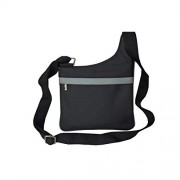 Style98 Black Leather Women's Sling Bag