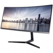 Samsung LED monitor Samsung C34H890WJU, 86.4 cm (34 palec),3440 x 1440 px 4 ms, VA LED HDMI™, DisplayPort, na sluchátka (jack 3,5 mm), USB-C™