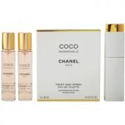 Chanel Coco Mademoiselle eau de toilette para mujer 3x20 ml (1x recargable + 2x recarga)
