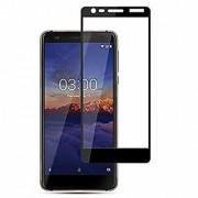 Nokia 3.1 5D Black Tempered Glass Standard Quality