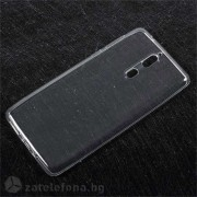 Тънък прозрачен силиконов калъф за Nokia 8 - бял