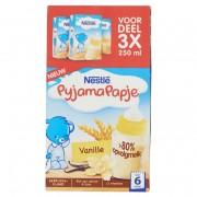 Nestlé PyjamaPapje® Vanille 3 x 250 ml