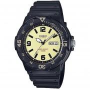 Reloj CASIO MRW-200H-5BVCF Diver-look Classic Collection Análogo Con Calendario-Negro