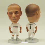 """The classic football star Soccer Player Star 3# R.CARLOS (RM 2005) 2.5"""" Action Figure"""