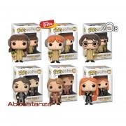 Set 6 Harry Potter Ron Hermione Pelicula Funko Pop Mandragor