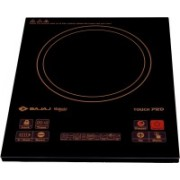 Bajaj Majesty Induction Cooktop(Black, Touch Panel)