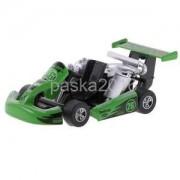 Alcoa Prime Pull Back Race Cars Rancer Formula Car Model Racing Toy Cars Gift Green