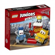 LEGO Juniors - Cars 3, Oprirea la boxe a lui Guido si Luigi 10732