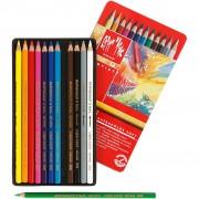Caran Dache Supracolor ll, kärna: 3,8 mm, L: 17 cm, 12 st., mixade färger