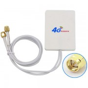 Dual Mimo 4G LTE Indoor Antenna Signal Booster with 7m SMA Connector Cable 35DBI 4G Signal Amplifier