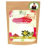Rhodiola rosea pulbere raw bio 125g
