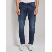 TOM TAILOR DENIM Jeans Piers super slim , Used Dark Stone Blue Denim, 36/32