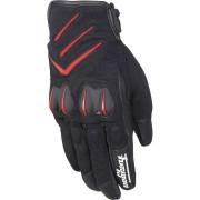 Furygan Delta Motorcykel handskar Svart Röd 2XL