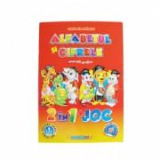 Carte de colorat educativa alfabet cifre si exercitii grafice A4 32 pagini Eurobookids