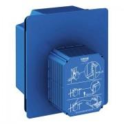 Grohe Urinal-Rohbauset Rapido UMB 38787 für man. Bet./Tectron IR Elektronik 6V 38787000