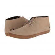Fred Perry Shoes Byron Mid Suede Mushroom Size 6.5