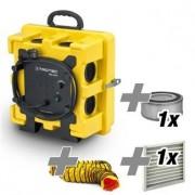 TROTEC Purificador de aire TAC 750 E + Conjunto de filtros Hepa