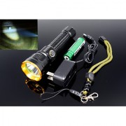 Small Sun zy-t110 Non-Removable Battery Rechargeable LED Flashlight Torch