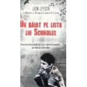 Un baiat pe lista lui Schindler ed. de buzunar - Leon Leyson