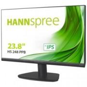 Монитор Hannspree HS 248 PPB, 23.8″ (60.45 cm) TFT панел, Full HD, 5 ms, 80000000:1, 250cd/m2, HDMI, DisplayPort, VGA