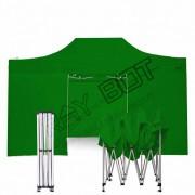 ray bot Gazebo pieghevole 3x4,5 verde professionale con laterali PVC 350g