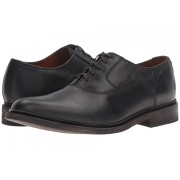 Frye James Bal Oxford Black Smooth Vintage Leather