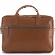 Still Nordic Leren Laptoptas 15 inch Clean Brief 2 Room Cognac