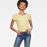 G-Star RAW Graphic 19 Ringer Slim T-Shirt