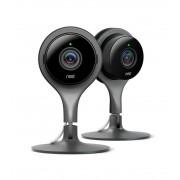 nest Boet Cam säkerhetskamera - svart (2 Pack)